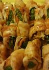 貴女風味で鶏のロール照り焼き❤ゆりさん風