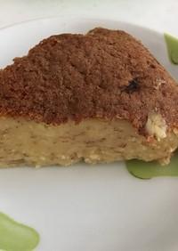 炊飯器でバナナケーキ(試作)