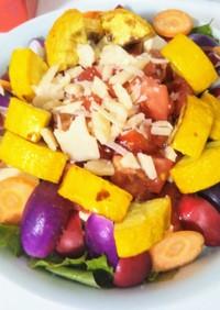 豆腐とトマトのパルミジャーノサラダ