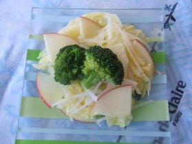 からしドレッシング簡単サラダ
