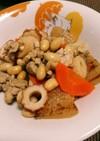 豚肉と大豆の煮物