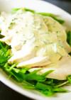鶏むね肉サラダチキン山葵レモンマヨソース