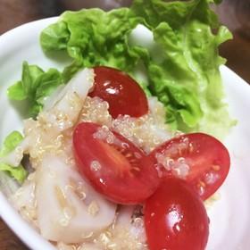 キヌアとレンコンのサラダ