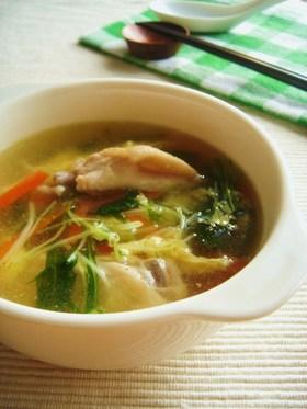 栄養満点!お手軽食べるスープ