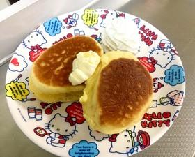 アレルギー練習パンケーキ(卵黄入り)