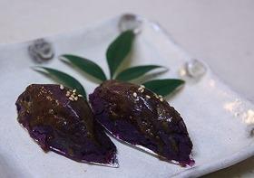 紫芋のスイートポテト♪