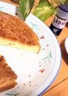 甘さひかえめ【シナモン焼きチーズケーキ】