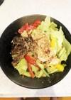 サラダ冷やし中華(マルちゃん正麺使用)