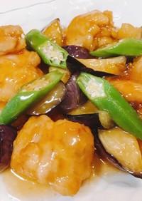 さっぱりおいしい♡鶏肉と夏野菜の甘酢あん