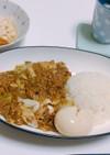 肉味噌キャベツ丼