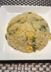 生搾菜で簡単・時短 美味しい搾菜炒飯♡