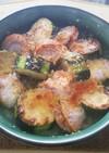 ホタテとズッキーニのオーブン焼き