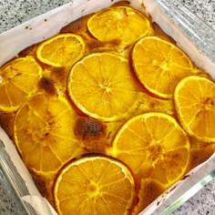 オレンジケーキ☆しっとりケーキ基本☆
