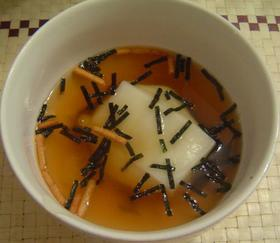 ★☆簡単お手軽!永谷園お茶づけで雑煮☆★