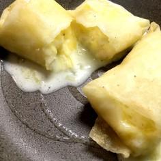 ブッラータ風チーズ揚げ