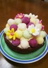 お誕生日や記念日に!カラフルアイスケーキ