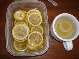 材料2つ!美味しいよ♪はちみつレモン☆☆