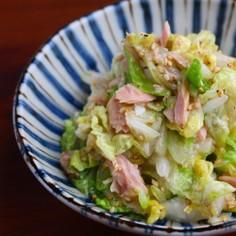 やみつき!白菜とツナの無限サラダ