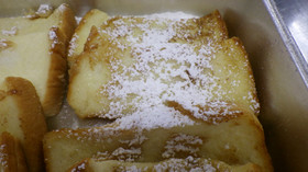 豆乳フレンチトースト