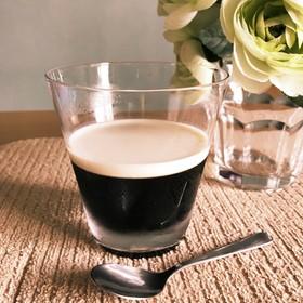 ボトルコーヒーで水なし簡単コーヒーゼリー