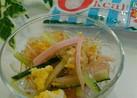 すぐ出来る!海藻麺でプチプチ春雨サラダ風