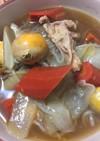 鳥と野菜の煮物