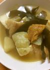 ハヤトウリと厚揚げの煮物