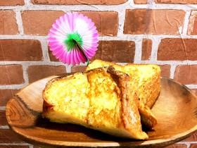 バニラアイスdeフレンチトースト