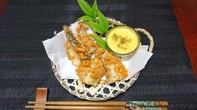 真鯛のお柿揚げ
