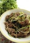 簡単★豚肉と小松菜ともやしの炒め物