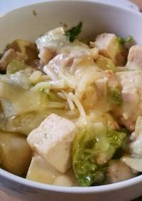 【糖質制限】木綿豆腐と鶏ももの甘煮
