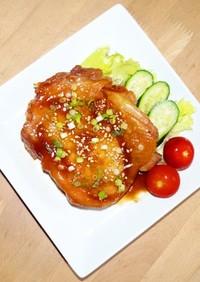 焼かない 鶏の照り焼き /丼