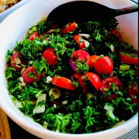 レバノン伝統料理★タブーリ★パセリサラダ