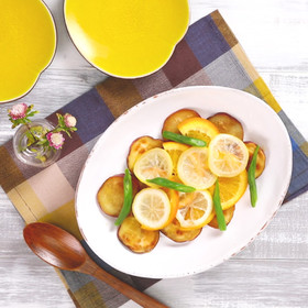 レモンとオレンジ香る♪さつまいもの甘煮
