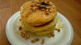 豆腐でカロリーオフ!ふわもちパンケーキ