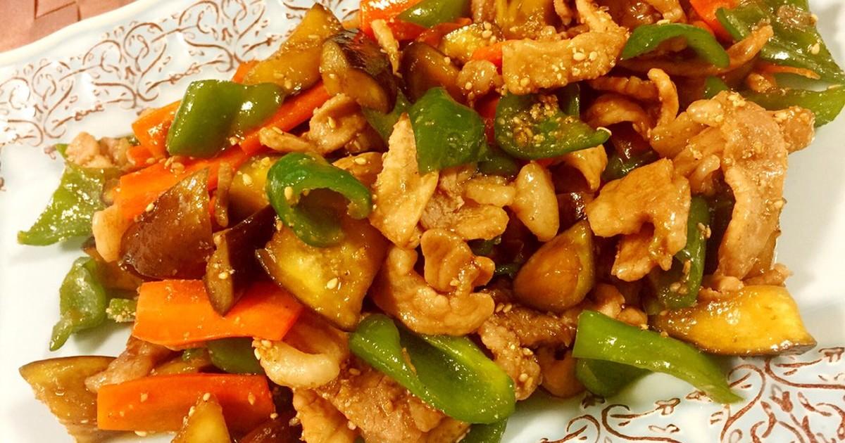 十勝豚丼のタレを使った肉野菜炒め