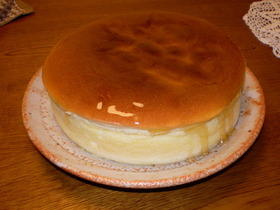 しっとりフワフワ☆チーズケーキ