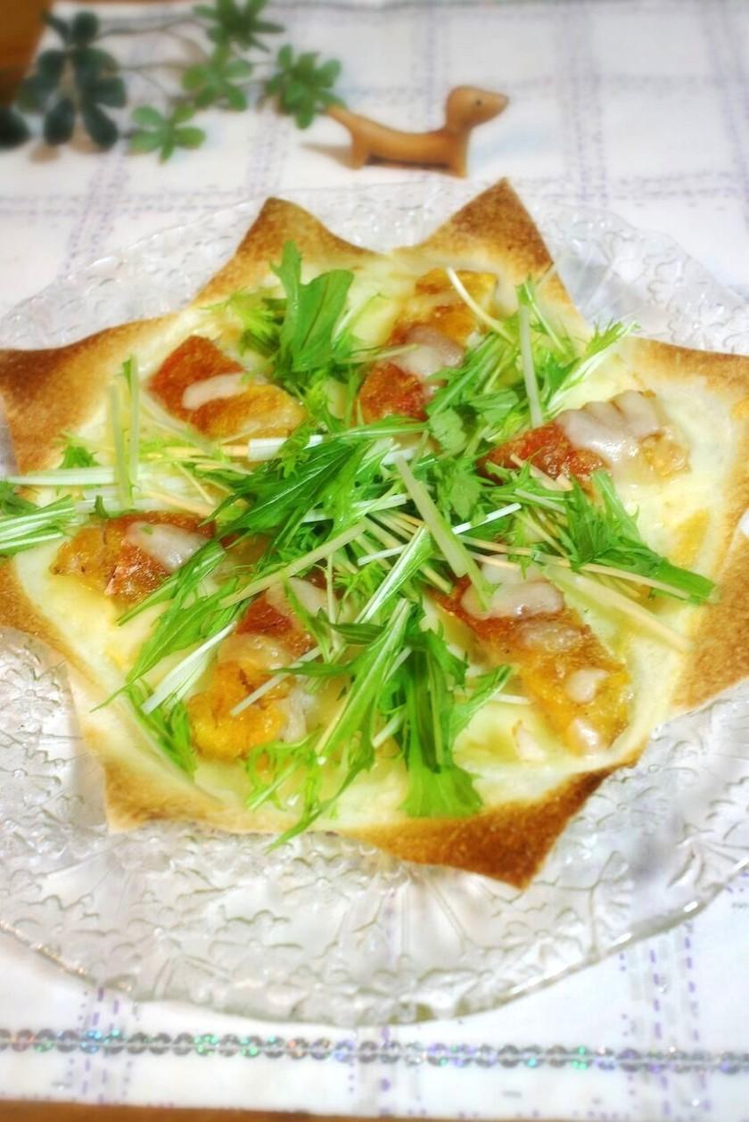 金目鯛和風クリスピーピザ