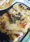 豆腐と揚げのカレーグラタン風