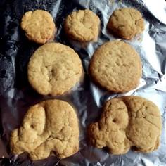 きな粉クッキー☆洗い物なし簡単!