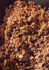 汁なし担担麺の肉味噌