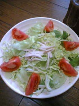 ささみとトマトのサラダ