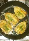 魚いわしのカレーパン粉焼き♪簡単