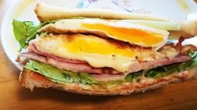 ☆ベーコンレタスエッグ☆サンドイッチ
