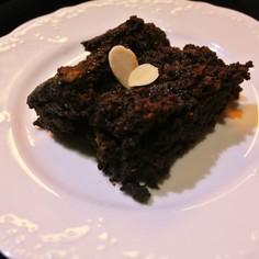 簡単!マシュマロ入濃厚チョコレートケーキ