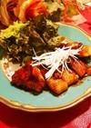 厚切り豚ロースの甜麺醤タレ炒め