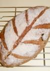 ヨーグルト入りイチジクライ麦パン
