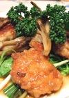 ☆鶏肉と舞茸の☆すし酢でマリネ♪