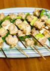 雑な男料理:セセリと九条ネギの焼鳥!!