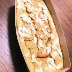 ボウル1つでバナナと豆腐のパウンドケーキ